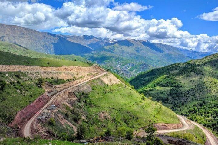 Mountainous Kalbajar district of Azerbaijan