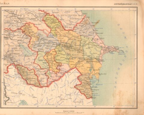 Karabakh as a part of Azerbaijan SSR