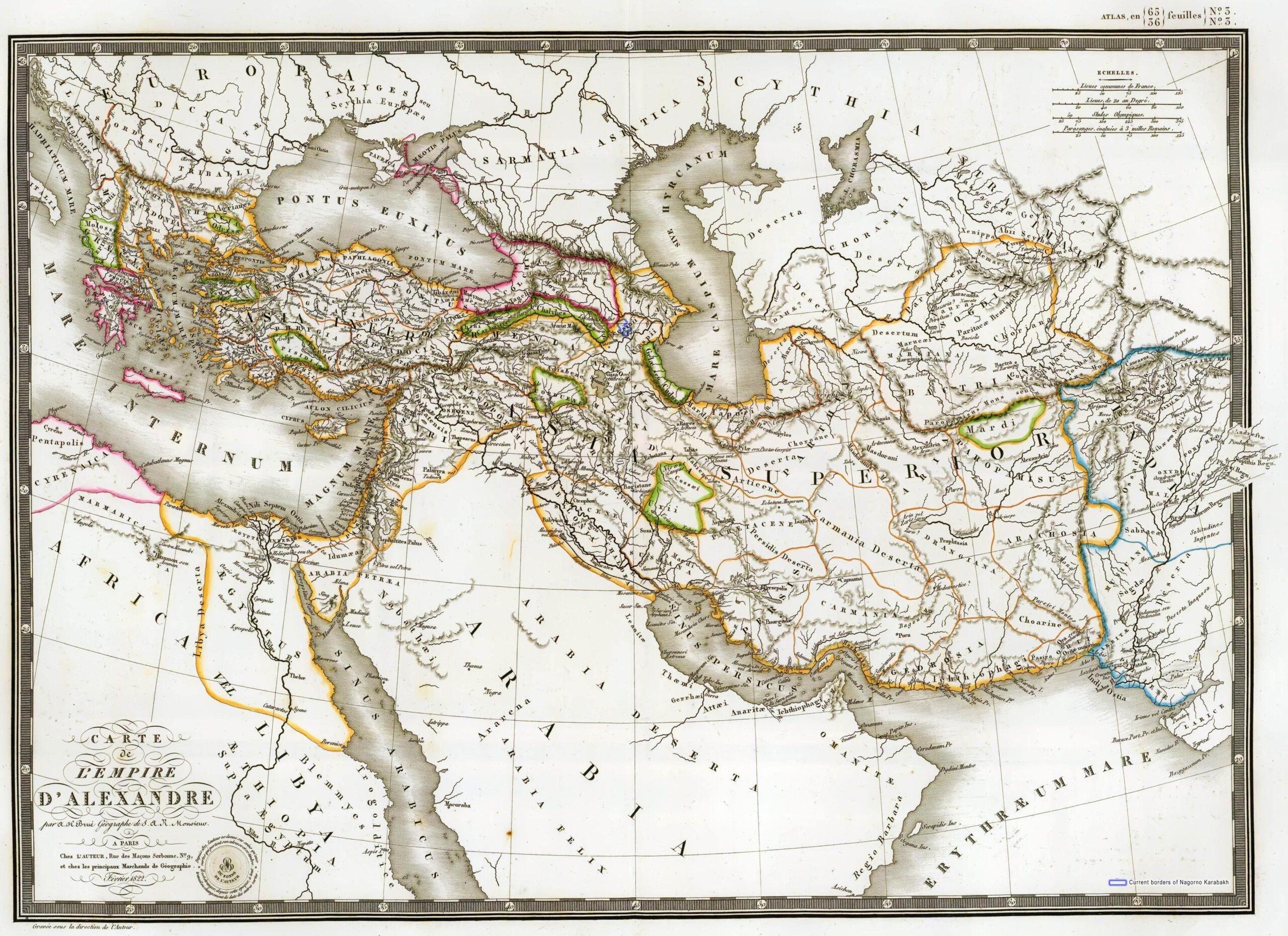 Karabakh during Macedonian Empire