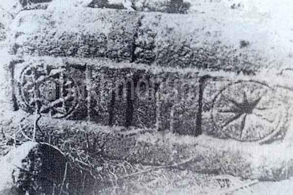Tomb in Mirik village cemetery, Lachin, 15th century