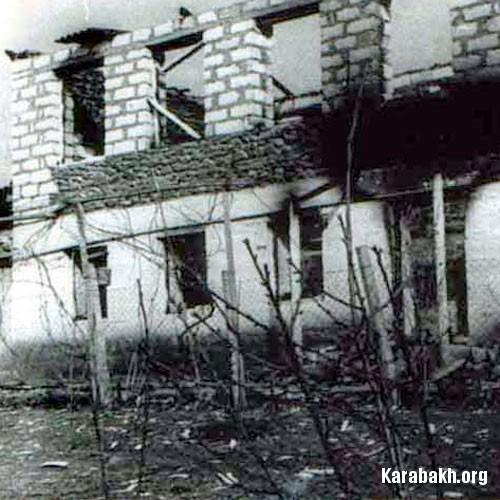 Terror attack against civilians in Gazakh distric, Azerbaijan 24.03.1990