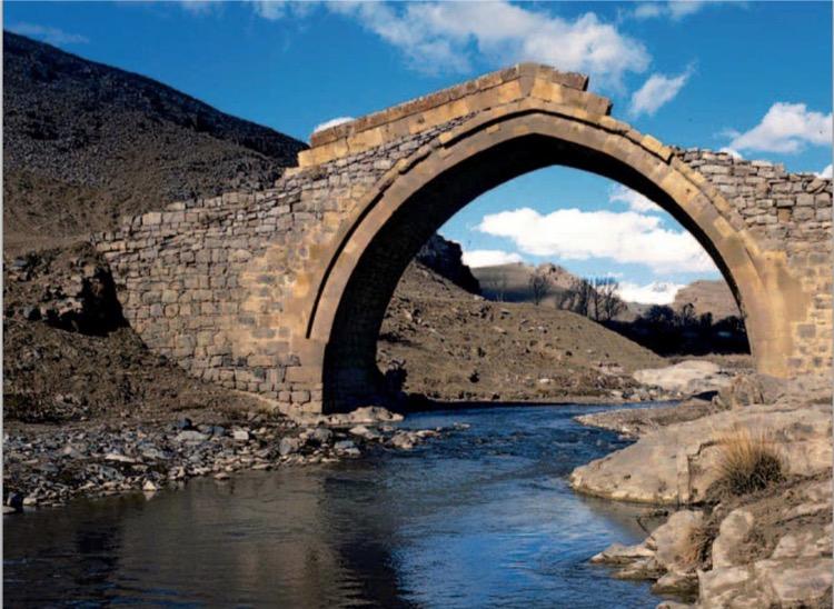 Lalazar Bridge, Aliguluushaghi, Gubadly region. 1867
