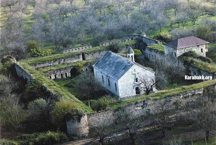 The Amaras monastery (Khojavand District)