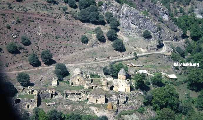 The Khudavank monastery (Kalbajar District)