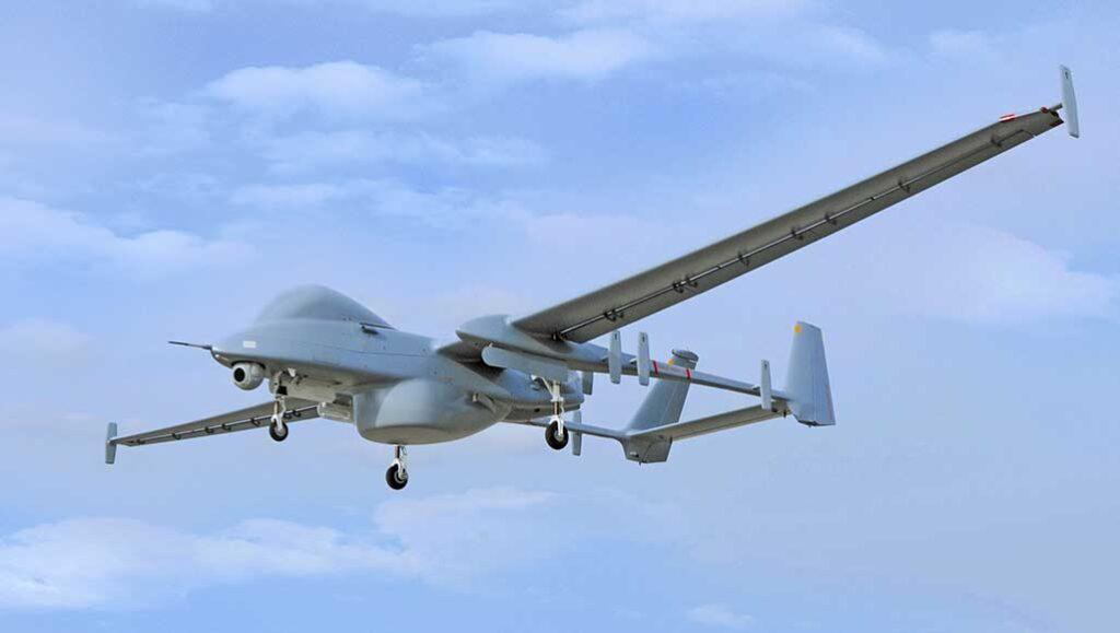 Israeli Heron UAV